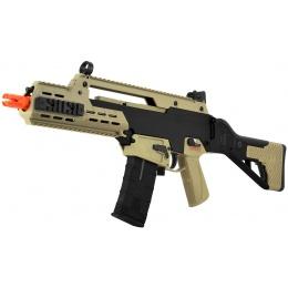 ICS G33 Series R36 RIS Airsoft Gun Assault Rifle AEG - BLACK/TAN