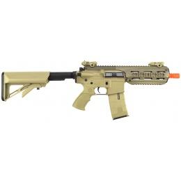 ICS CXP-16S Short Sportline M4 RIS CQB Airsoft AEG Rifle - TAN