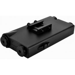 ICS Tactical RIS AN/PEQ 2 Airsoft AEG Battery Box w/ Laser Port