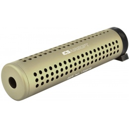 ICS M4 / M16 Quick Release QD Airosft Mock Suppressor - TAN