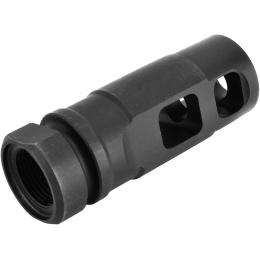 ICS Airsoft M4 / M16 14mm CCW AEG Rifle Muzzle Brake Flash Hider