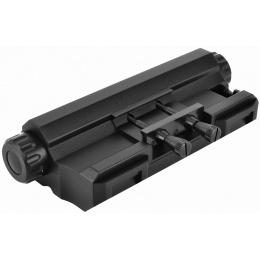 ICS M4 / M16 AEG Airsoft PEQ Battery Box Mock Laser Unit - BLACK