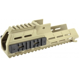 ICS Airsoft G33 Series AEG Rifle RIS Handguard Conversion Kit - TAN