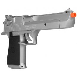 KWC Magnum Licensed Desert Eagle .44 Airsoft Spring Pistol - SILVER