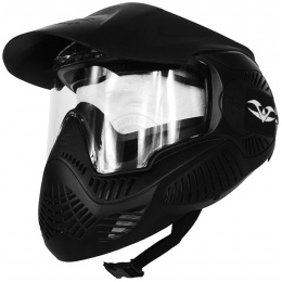 Valken Annex MI-5 Full Face Airsoft Mask w/ Visor - BLACK