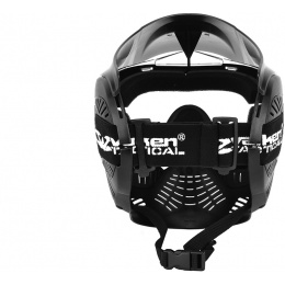 Valken Annex MI-5 Full Face Airsoft Mask w/ Visor - BLACK