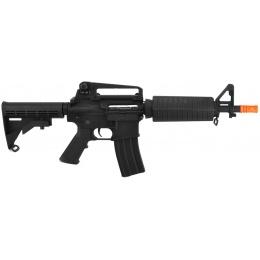 Lancer Tactical Full Metal M4 Commando CQB Airsoft Gun AEG Rifle