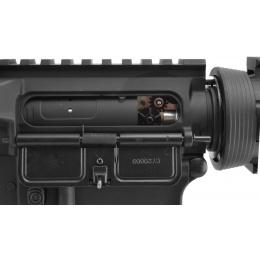 Lancer Tactical Full Metal M4 CQB RIS Airsoft Gun AEG Rifle - BLACK