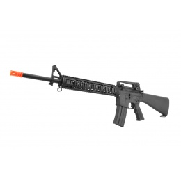 CYMA CM009A4 Full Metal M16A4 RIS DMR Airsoft AEG Rifle - BLACK