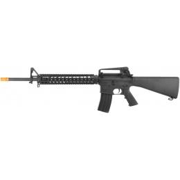 CYMA CM009A4 Full Metal M16A4 RIS DMR Airsoft AEG Rifle - BLACK