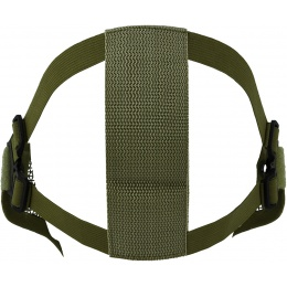 CYMA Airsoft Steel Mesh Adjustable Lower Face Mask - OD GREEN