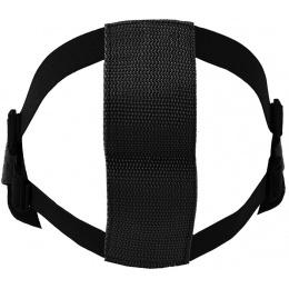 CYMA Airsoft Steel Mesh Adjustable Lower Face Mask - BLACK SKULL