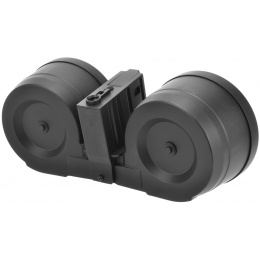 A&K Airsoft SR-25 2500Rd Electric Winding C-MAG Drum Magazine