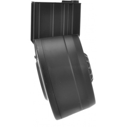 A&K Airsoft SR-25 3000Rd Auto Winding/Sound Control Drum Magazine