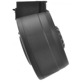 A&K Airsoft AK47 Series AEG Auto Winding/Sound Control Drum Magazine