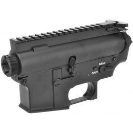 A&K Airsoft M4/M16 Series AEG Metal Receiver - BLACK