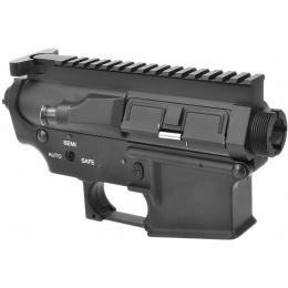 A&K Airsoft M4/M16 Series AEG Metal Receiver - BLACK