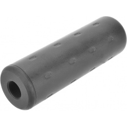 A&K Airsoft AEG Mock Suppressor 14mm Clockwise - BLACK