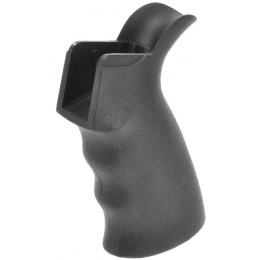 A&K Airsoft M4/M16 AEG Series Textured Ergonomic Motor Grip - BLACK
