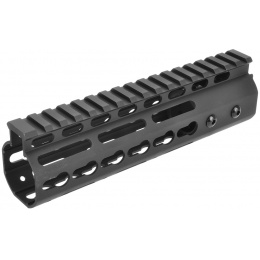 Golden Eagle Airsoft Free Float 7-inch KeyMod Handguard w/ Top Rail