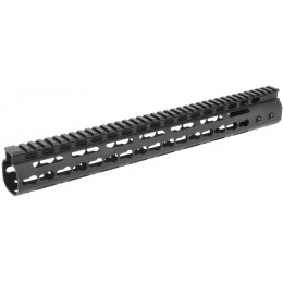 Golden Eagle Airsoft Free Float 15-inch KeyMod Handguard w/ Top Rail