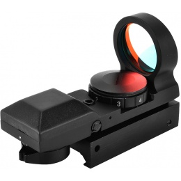 AMA Full Metal 7-Intensity Airsoft Red Dot Panoramic Reflex Sight