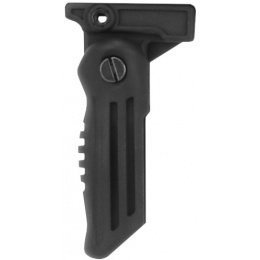 Golden Eagle Airsoft AK-47 Folding Vertical Fore Grip - Black