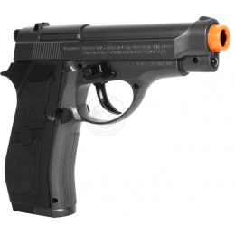 WG Compact M84 Full Metal Airsoft CO2 Non Blowback Pistol - BLACK