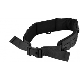 AMA MOLLE Duty Battle Belt w/ Padding - MEDIUM BLACK
