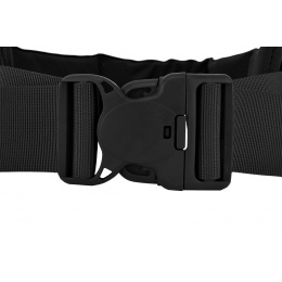 AMA MOLLE Duty Battle Belt w/ Padded Liner - LARGE - BLACK