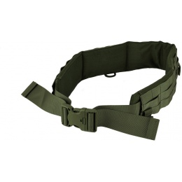 AMA MOLLE Duty Battle Belt w/ Padded Liner - LARGE - OLIVE DRAB