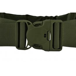 AMA MOLLE Duty Battle Belt w/ Padded Liner - LARGE - OLIVE DRAB