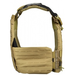 AMA Laser Cut Airsoft Tactical Vest (Coyote Brown)