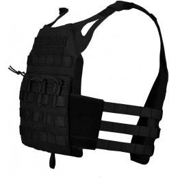 Lancer Tactical Airsoft JPC Plate Carrier w/ MOLLE Webbing - BLK