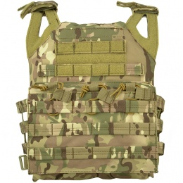 Lancer Tactical Airsoft JPC Plate Carrier w/ MOLLE Webbing - CAMO