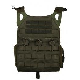 Lancer Tactical JPC Plate Carrier MOLLE w/ Dummy Plates - FOLIAGE