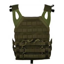Lancer Tactical Airsoft JPC Plate Carrier w/ MOLLE Webbing - OD
