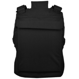 Lancer Tactical Airsoft Adjustable American Body Armor - BLACK