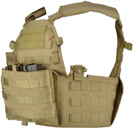 Lancer Tactical 600D Modular Airsoft MOLLE Tactical Vest (Tan)