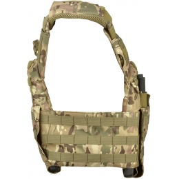 Lancer Tactical 600D Speed Attack MOLLE Plate Carrier V2 - CAMO
