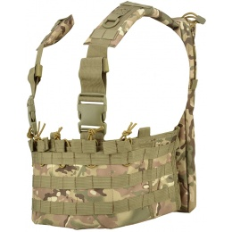 Lancer Tactical DZN Mag Harness Chest Rig w/ Hydration Carrier - CAMO