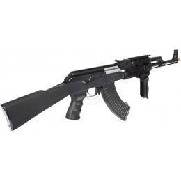 Cyber Monday Door Buster: JG AK-47 Tactical RIS Full Metal Gearbox Airsoft AEG Rifle - BLACK