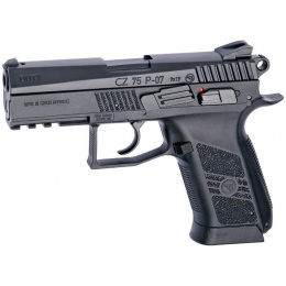 ASG CZ 75D P-07 Duty CO2 Non-Blowback Airsoft Pistol - BLACK