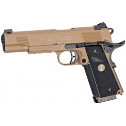 ASG STI TAC Master 1911 CO2 Blowback Airsoft Pistol - DESERT