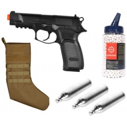 Stocking Stuffer: ASG Thunder 9 + MOLLE Stocking + CO2 Cartridges + BBs