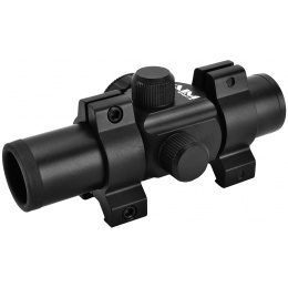 AIM Sports 1x25 Mini Illuminated 5 MOA Red Dot Relex Sight