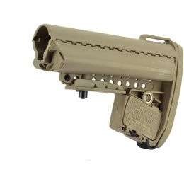 BOLT Airsoft M4 / B4 / SR16 / SR47 Retractable CQB Crane Stock - TAN