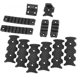 PTS Centurion Arms Airsoft CMR Modular Rail Accessory Pack - BLACK