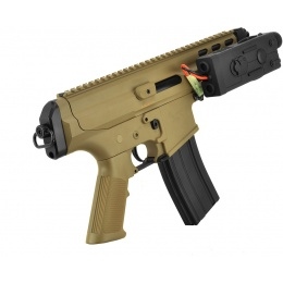 Echo1 Robinson Armament XCR-P Polymer Airsoft AEG Pistol - TAN