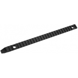 APEX Airsoft Aluminum KeyMod 25-Slot Rail Segment w/ QD Sling Adapters
